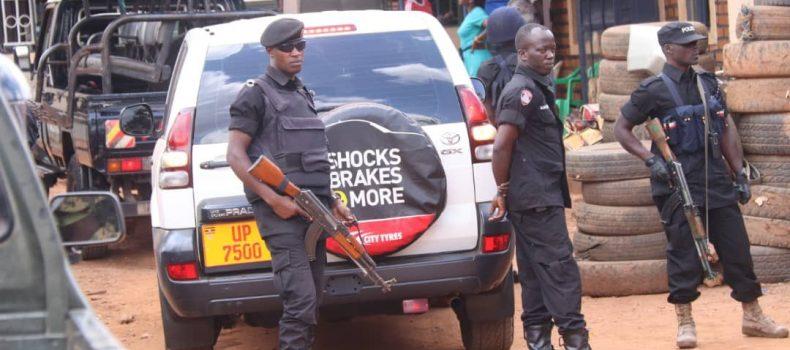 Bobi Wine Arrives Home Safely