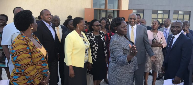 Cabinet toured new Specialized Mulago hospital,  patients to pay for services