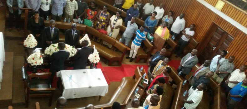 Mbarara district council pays tribute to fallen councilor