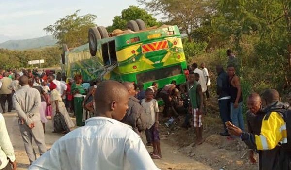 Police clarifies on Kasese Bus Accident, 27 injured, no death
