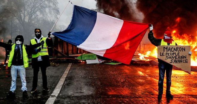 France stops fuel tax increment in a bid to calm violent  protests