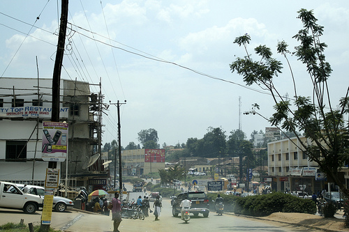 Itendero-Kabwohe town council accused of grabbing an old man's land