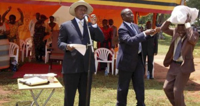 Pentecostal church leaders want money and jobs from President Museveni