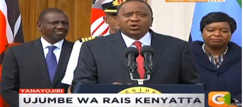 Kenya hotel siege over… all attackers eliminated, says President Kenyatta.