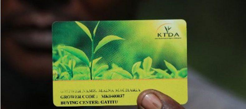 Kenya Tea Development Agency issues tea farmers smartcards with eye on efficiency.