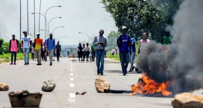 Zimbabwe troops accused of 'systematic torture' of protesters.