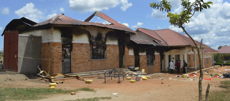 Rakai school fire students sent back to prison