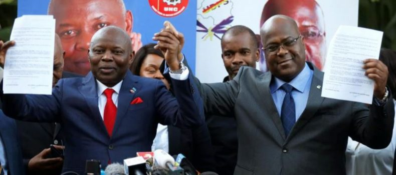 DRC president Tshisekedi names coalition ally as Chief of Staff.
