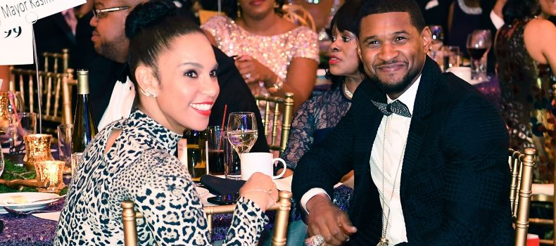Usher Raymond files for divorce from wife.