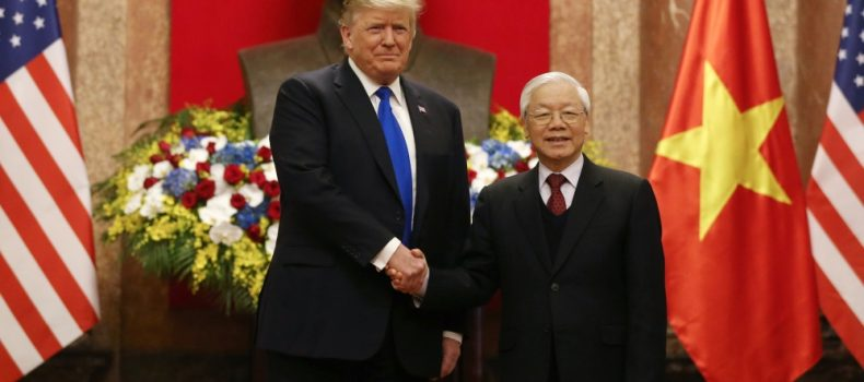 North Korea – US summit kicks off in Vietnam,Trump meets Vietnamese president first.