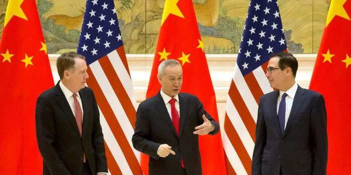China and US kick off high-level trade talks in Beijing.