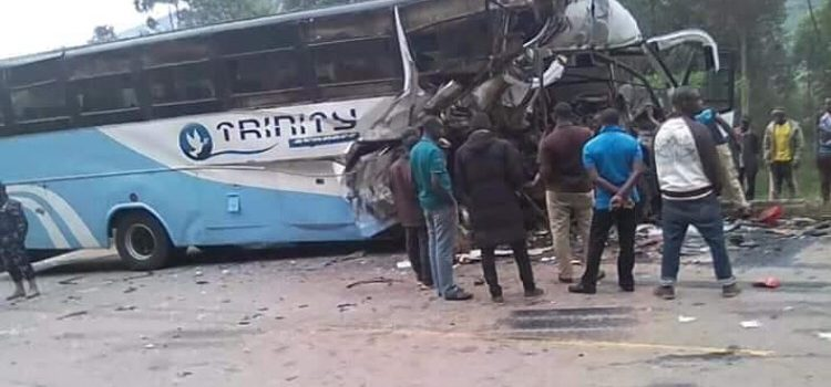 Two people perish in Kabale accident, 13 critically injured.