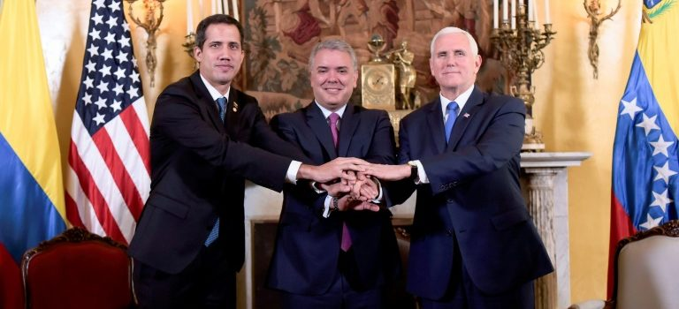 Venezuela's Guaido, US Vice President agree to keep Pressure on deserted Maduro