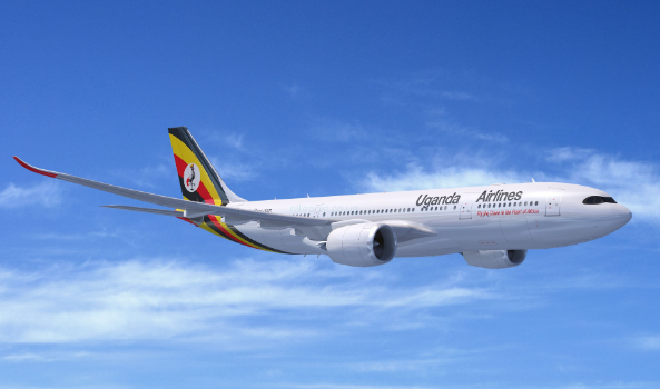 Uganda Airlines first Plane tested in Canada, Five more are on order.