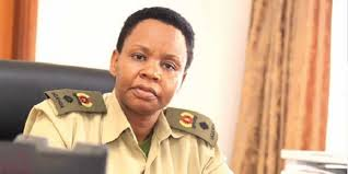 Lt. Col. Edith Nakalema raids Arua public secondary school.