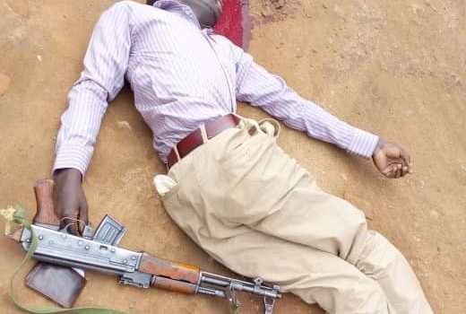 Notorious armed robber gunned down, three netted.