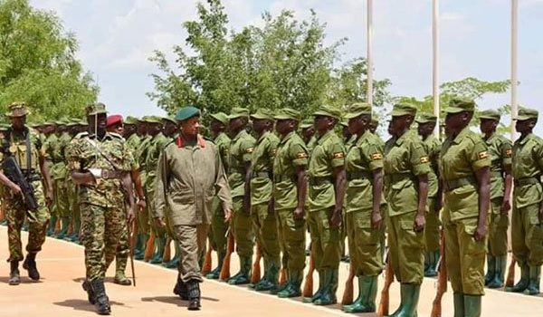 800 UPDF officers selected to command LDUs in Kampala.