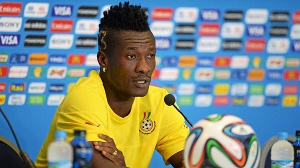 Asamoah Gyan dropped ahead of Black Stars 2019 AFCON qualifier against Kenya