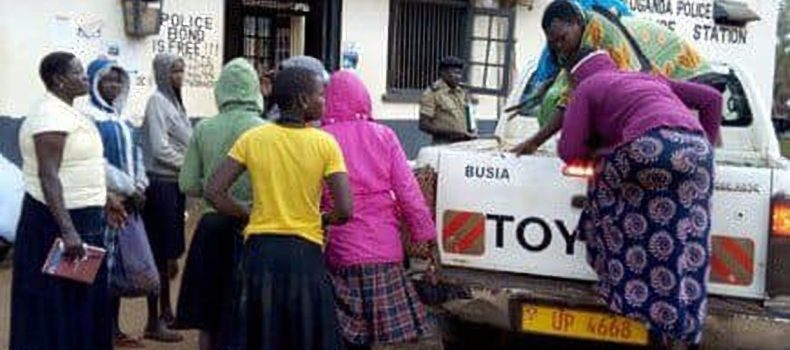 11 Ugandan under age trafficked  girls returned to Uganda from Kenya
