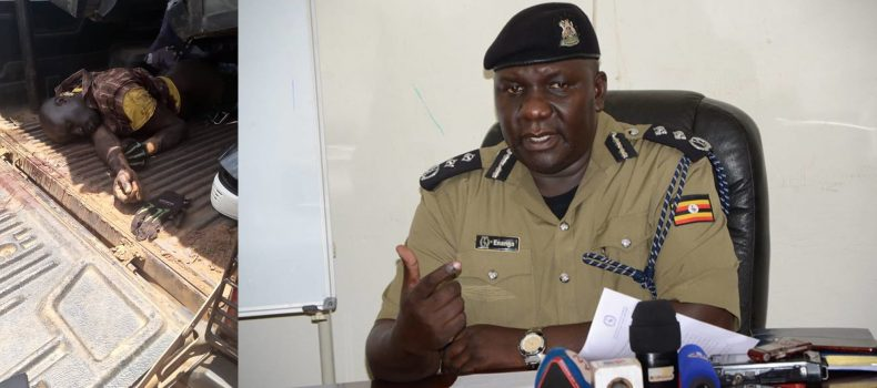 Uganda Police admits 'handcuffing & shooting' an innocent person.