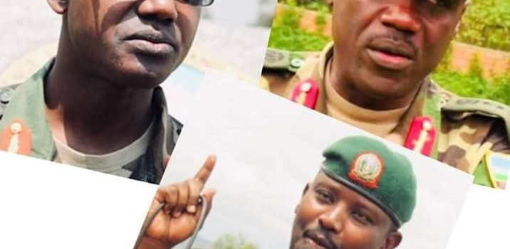 Three Rwandan Army Generals arrested.