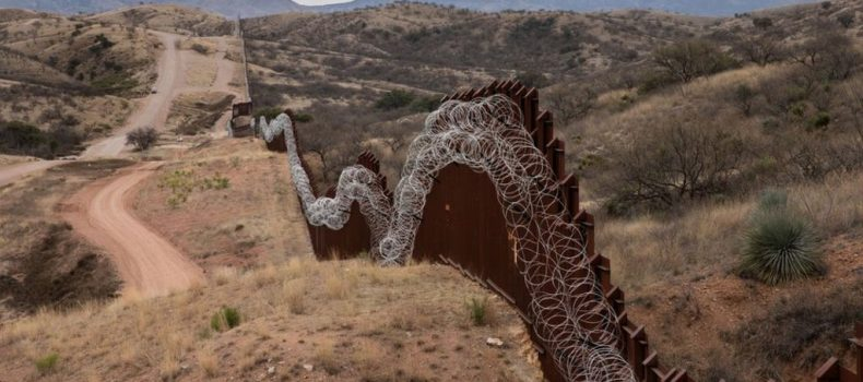 Pentagon authorises $1bn transfer for the US-Mexico border wall.