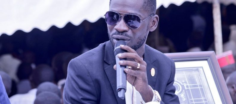 Bobi Wine escapes from security, goes for burial of his  supporter