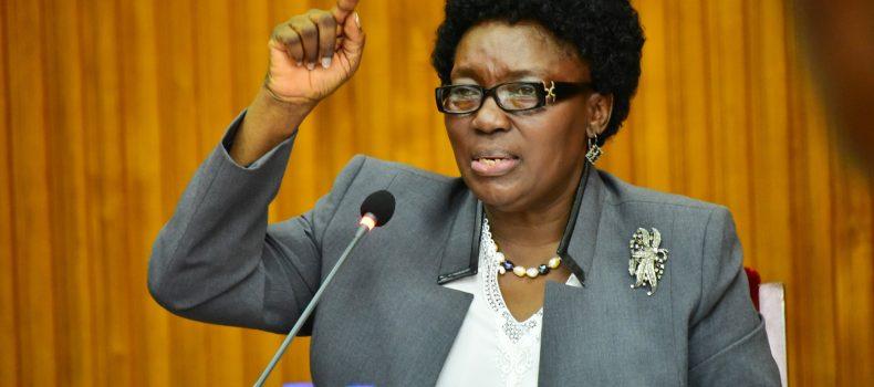 Speaker Kadaga secretly returns to the Country