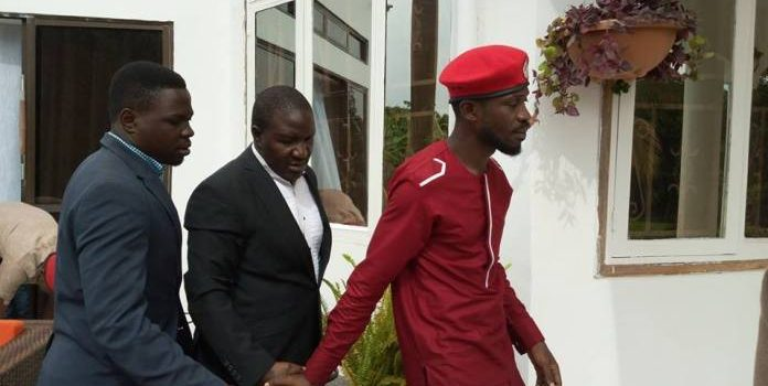 Bobi Wine reports to Criminal Investigation Department for questioning