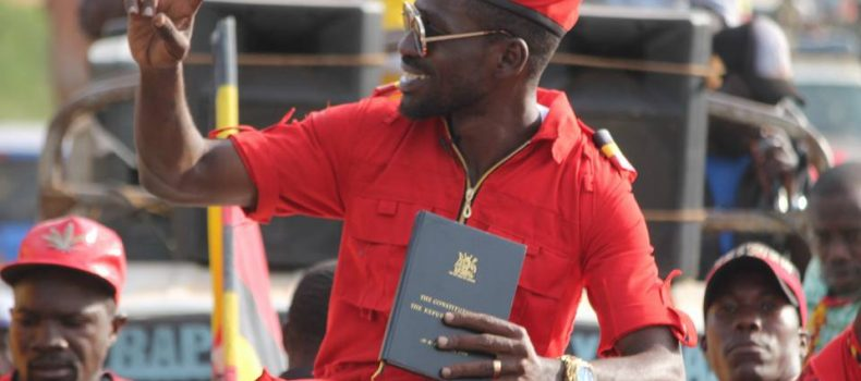 Democratic Party bloc lashes at president Museveni for slapping trumped-up charges against Bobi Wine