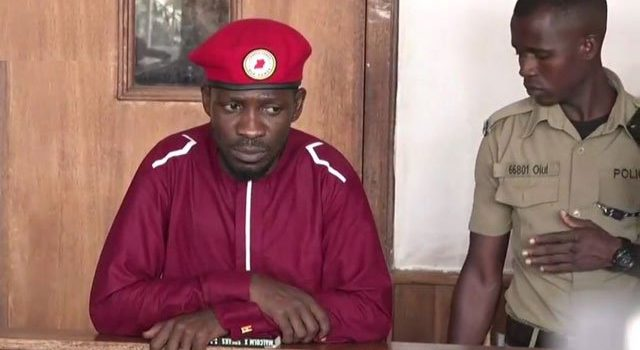 Bobi Wine charged and sent to prison