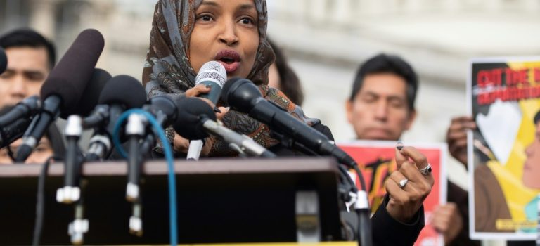 White House denies Trump inciting violence against Muslim lawmaker.