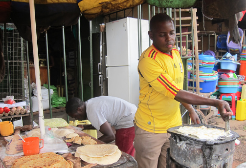 Chapatti vendors in Kabale district asked to form Association.