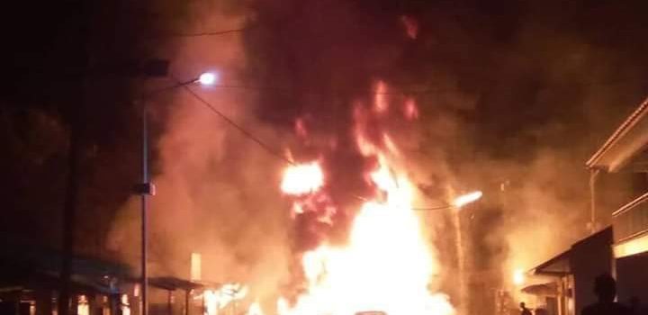 Fort Portal tank Inferno leaves One dead, property destroyed