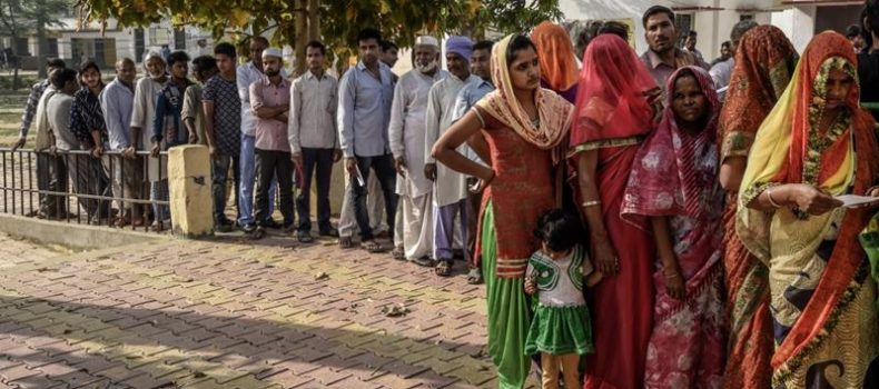 Polling has opened for the fifth phase of India's marathon elections.