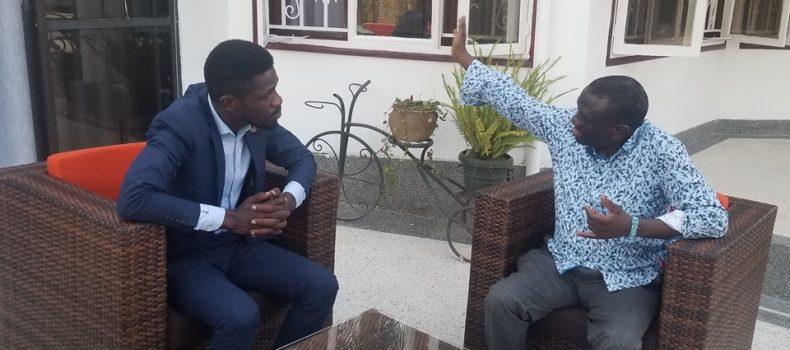 Bobi Wine, Besigye agree to work together