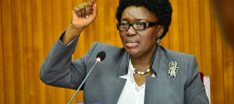 Speaker Kadaga disagrees on paying OTT for Members of parliament