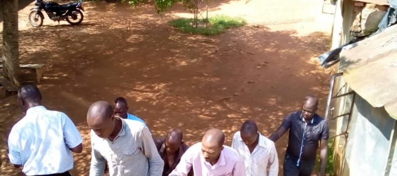 Masaka Police nets four number plate thieves.