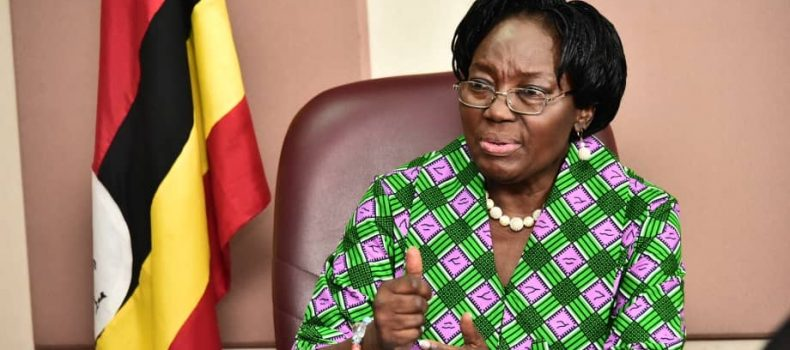 Speaker of Parliament Rebecca Kadaga advises Bunyoro Region leaders to intensify their demands to have a university set up.