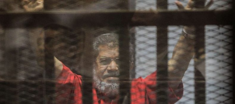 Former Egyptian President Morsi buried in Cairo after Collapsing and Dying in Court.