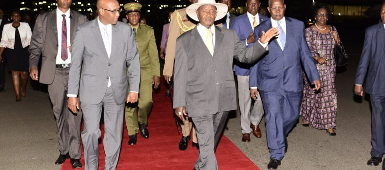 President Museveni in Kenya for COMESA summit 2019.