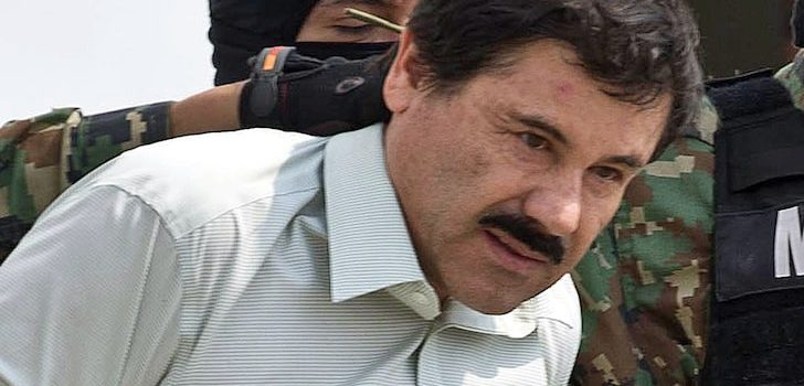 U.S court sentences Mexican drug lord Joaquín Guzmán to life imprisonment.