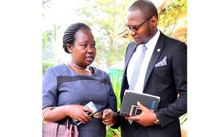 Assaulted sergeant Namaganda wants Gen Kyaligonza to pay Shs200m