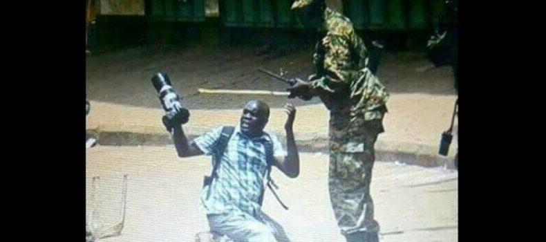 Brutalized by Soldiers: Reuters Journalist Akena sues Ugandan government.