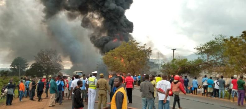 Fuel Tanker explodes killing Over 50 people in Tanzania.
