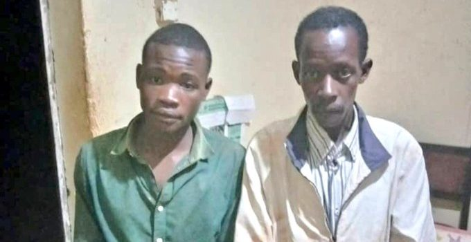 Kigezi Police rescues Two kidnapped men.