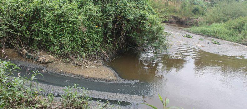 Western Uganda: Industrial Waste,Sewage directed into River Rwizi.