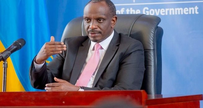 Rwandan Foreign Affairs Minister Dr Sezibera Admitted in Critical Condition after Poisoning.
