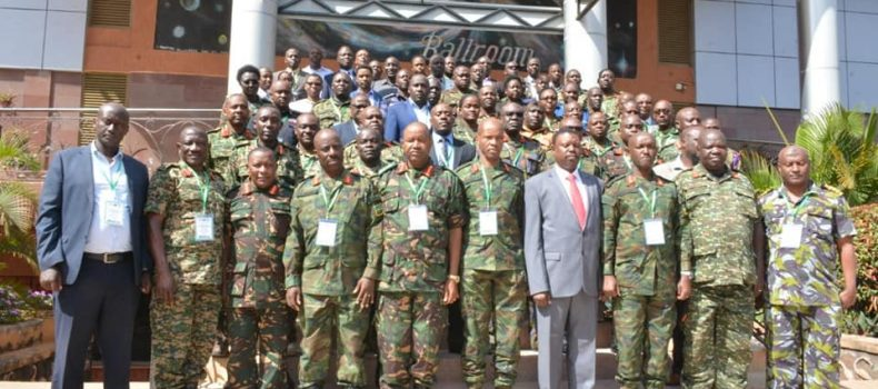 East African Armed Forces convene in Kampala.