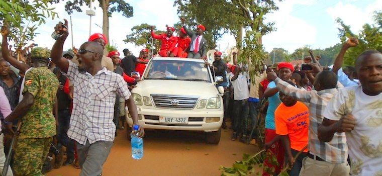 United Forces of Change: Besigye,Muntu,Bobi Wine in Hoima to campaign for FDC candidate.